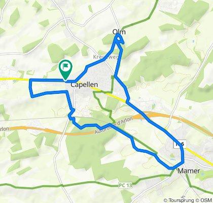 Route d'Arlon 98, Mamer to Route d'Arlon 98, Mamer