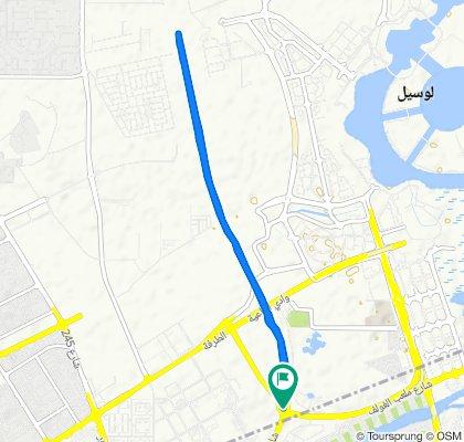 Blistering ride in Doha