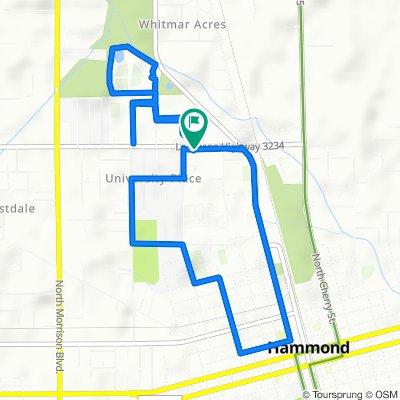 Easy ride in Hammond