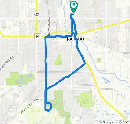 JCMS to Ella 8 mile loop