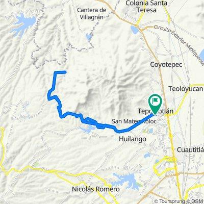 Ruta moderada en Tepotzotlán