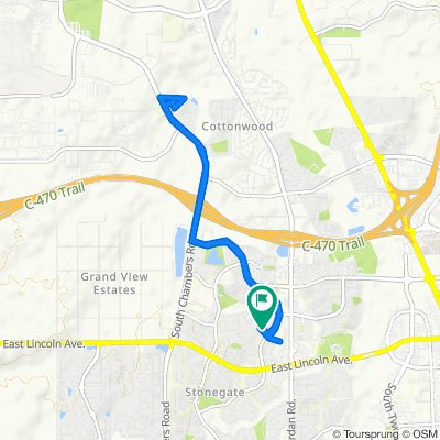 Moderate route in Parker