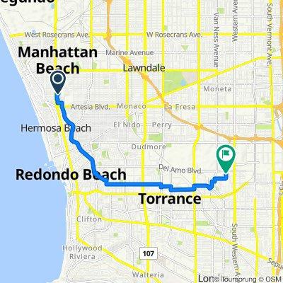 1160 Duncan Dr, Manhattan Beach to 20309 Gramercy Pl, Torrance