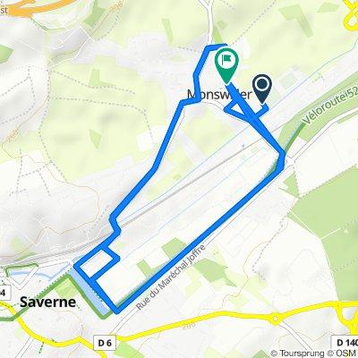 Route stable en Monswiller