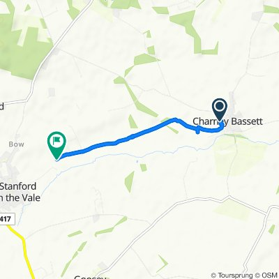 Slow ride in Faringdon