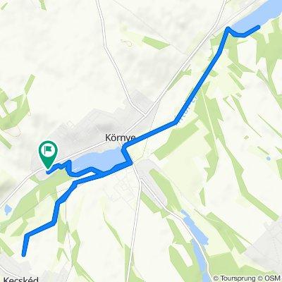 Steady ride in Környe