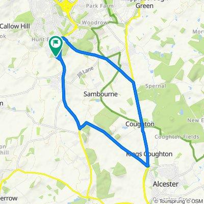 3 Brookhampton Close, Redditch to 3 Brookhampton Close, Redditch