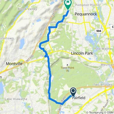 10 Midvale Ave, Fairfield to 205 Chatfield Dr, Pompton Plains