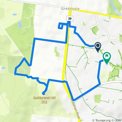 37 Glencairn Drive, Greenvale to 11 Kintyre Court, Greenvale