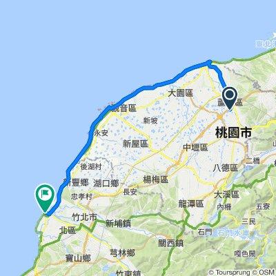 環島線-水岸新竹漁港(南寮)