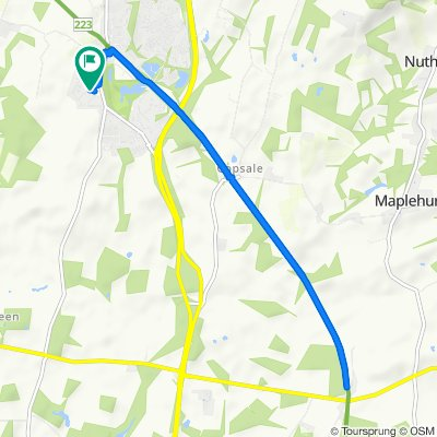 College Road 132, Southwater to College Road 136, Southwater