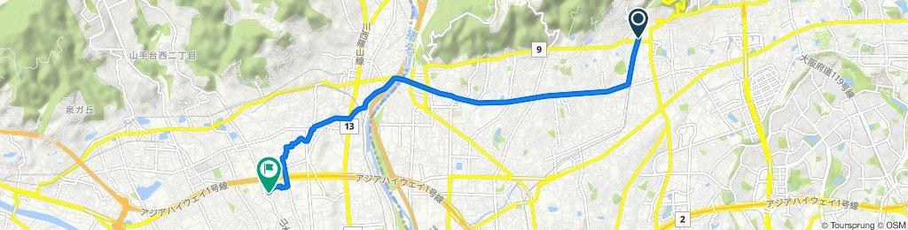 Cracking ride in Minoo-Shi
