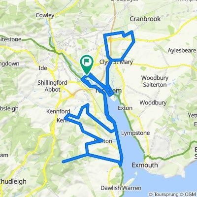 1–4 Chepstow Close, Exeter to 34 Bridge Road, Exeter