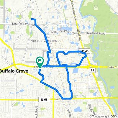 9.5mi Neighborhood Ride