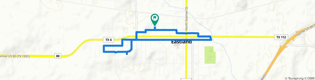 314 N Ammerman Ave, Eastland to 314 N Ammerman Ave, Eastland