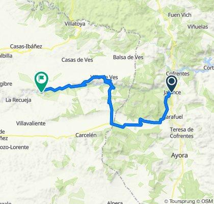 Jalance_Alcala de Jucar_65km_1180m_Opcion dura