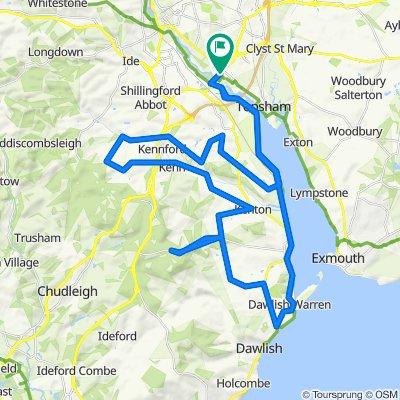 32 Bridge Road, Exeter to 5–10 Chepstow Close, Exeter