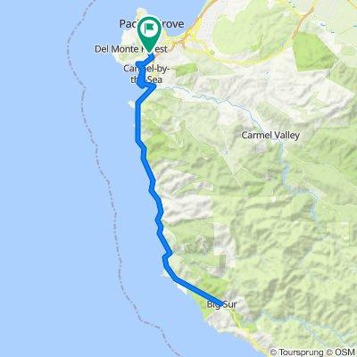 CA 1 - 60 miles