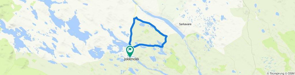 Miessávrre Ligga Route 58 km