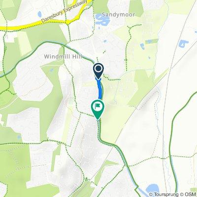 9 Harvard Close, Runcorn to 18 Seaford Close, Runcorn