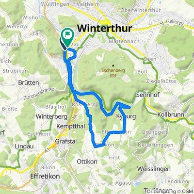 Rossberg - Kyburg - Runde