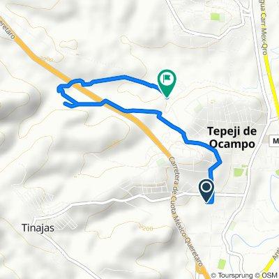 De Ignacio Ramírez 3, Tepeji del Rio de Ocampo a Nogal 380, Tepeji del Rio de Ocampo