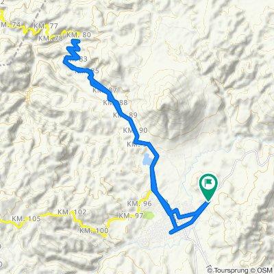 Ruta relajada en Jalapa