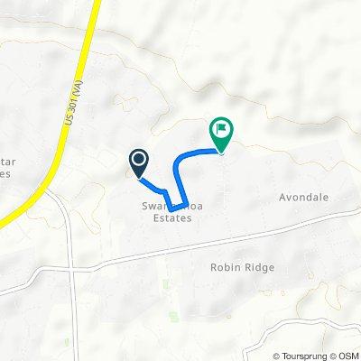 8107 Elder Trail, Mechanicsville to 9293–9299 Rural Point Dr, Mechanicsville
