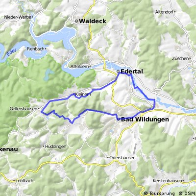 Kleine Rundtour im Norden v. Bad Wildungen