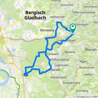 Königsforst - Wahner Heide-Gut Leidenhausen und durchs Freudenthal retour