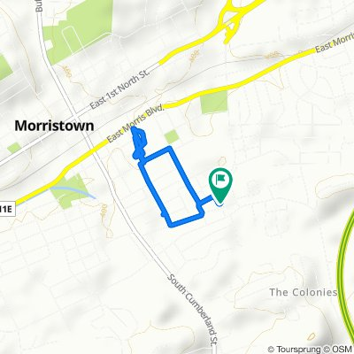 Restful route in Morristown