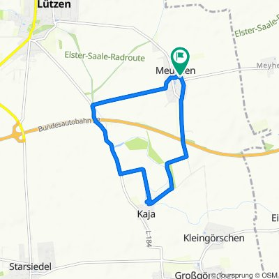 Moderate Route in Lützen