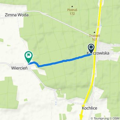 Zrelaksowana trasa w Wiercień