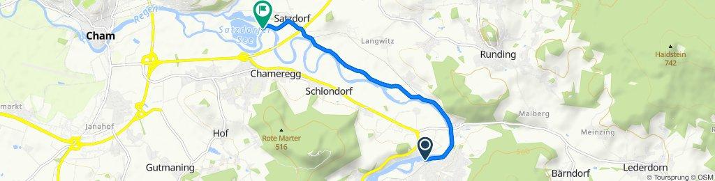 От Am Anger 2, Chamerau до Satzdorf 16, Runding