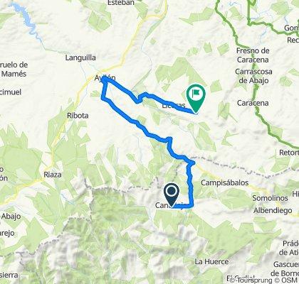 Cantalojas_ayllon- Montejo de Tiermes