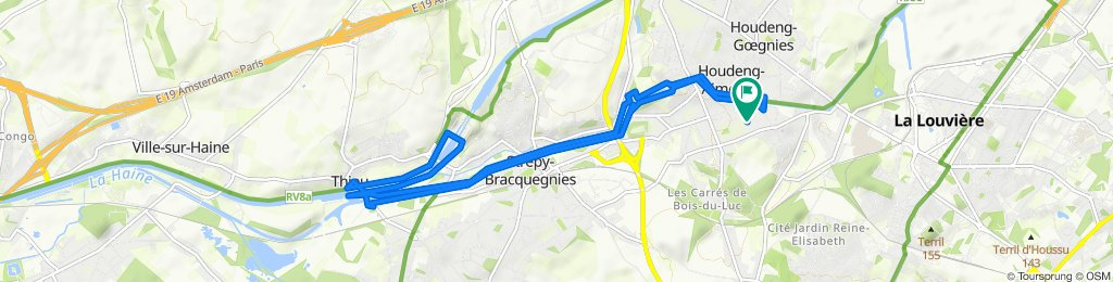 Route stable en