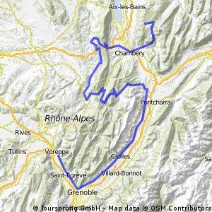 Voreppe - Mont Revard(La Feclaz)