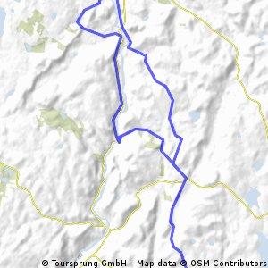 Flat Rocks to Lime Rock via West Cornwall