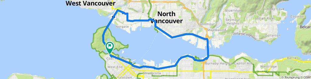700 Chilco St, Vancouver to 700 Chilco St, Vancouver