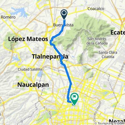 De Corregidora 4, Buenavista a Eje Central Lázaro Cárdenas 127, Ciudad de México