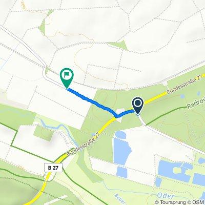 Gemütliche Route in Hattorf am Harz