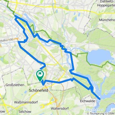 54 km durch den Osten