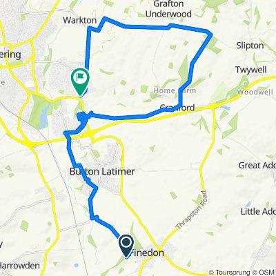 High-speed route in Wellingborough