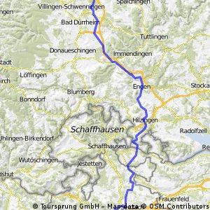 Winterthur - Obereschach (nahe an Autobahn & Co.)