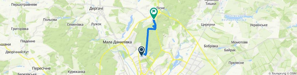 Спокойный маршрут в Харьков