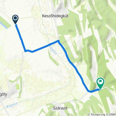 Steady ride in Gyönk