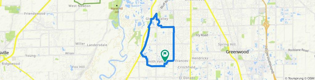 15.4 mile