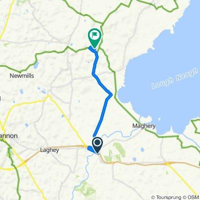 B196, Dungannon to 18 Drumkern Road, Dungannon