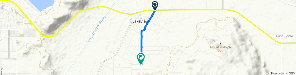 Moderate route in Nuevo