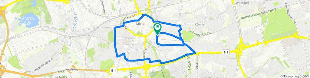 Moderate Route in Dortmund